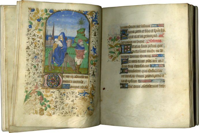 Book of Hours (use of Paris and Tours)