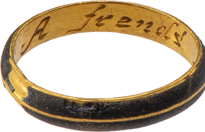 "Posy Ring ""A frend's gift"""