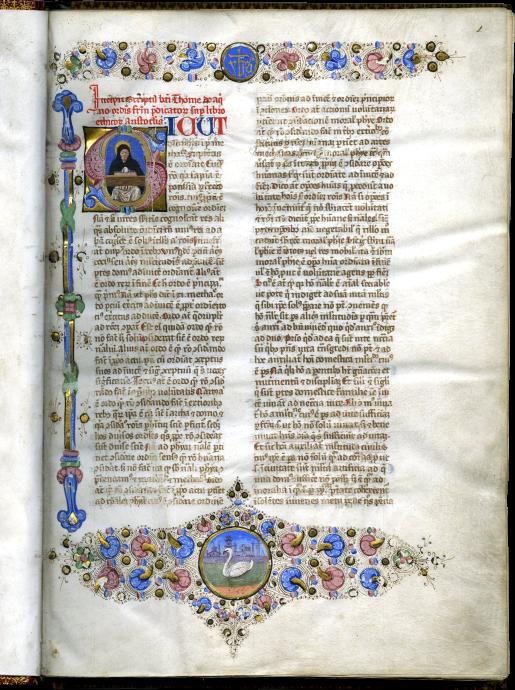 Thomas Aquinas , Sententia libri Ethicorum, or Liber super ethicorum aristotelis (Commentary on the Ethics of Aristotle)