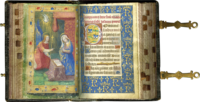 The Petites Heures of Charles VIII, King of France (r. 1483-1498) (use of Paris)