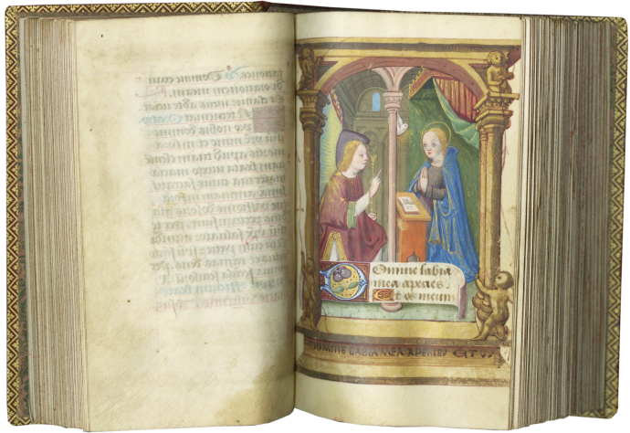 Book of Hours (Use of Rome)