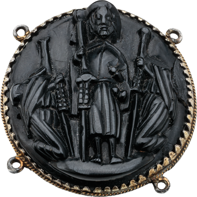 Badge with St. James the Great