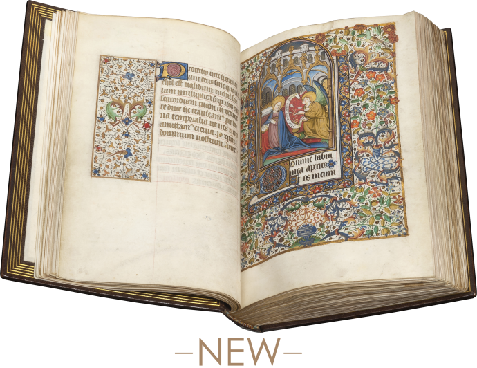 Book of Hours (Use of Besançon)
