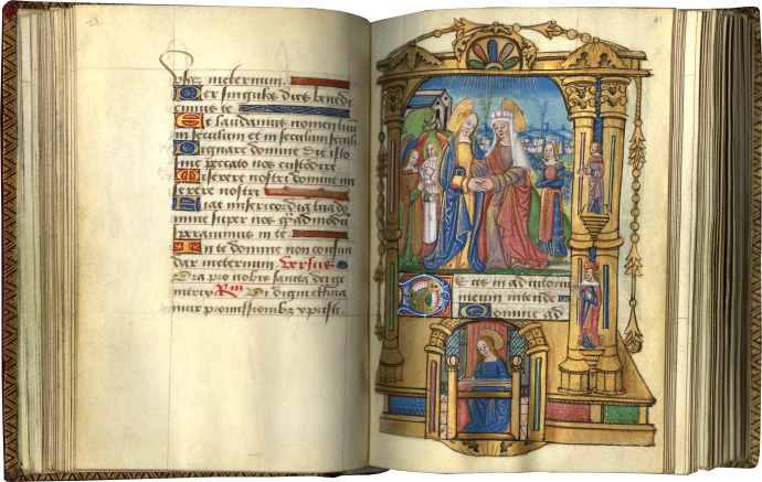 Book of Hours (use of Troyes)