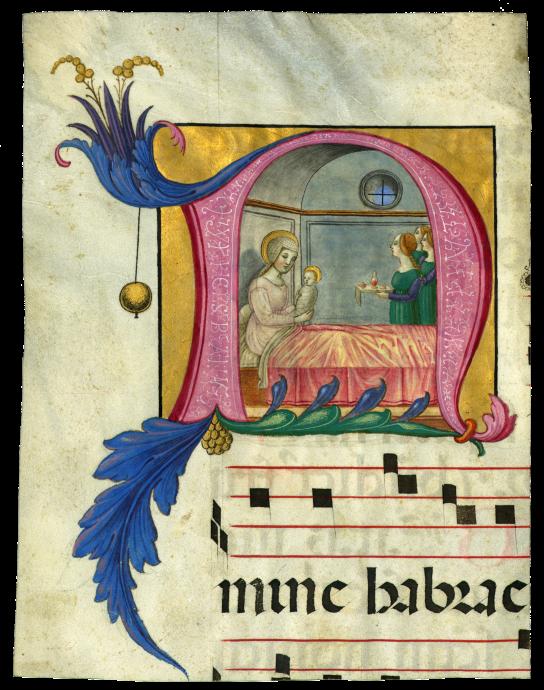 Scriptorium of Santa Maria di Castello (Ludovico da Taggia?)