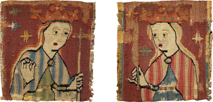 Pair of Female Saints