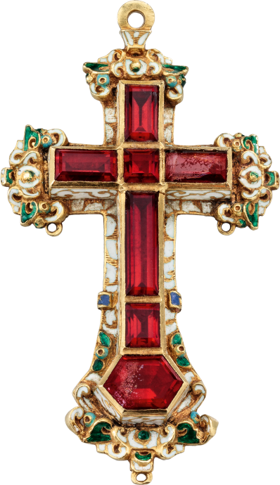 Renaissance Pectoral Cross Pendant