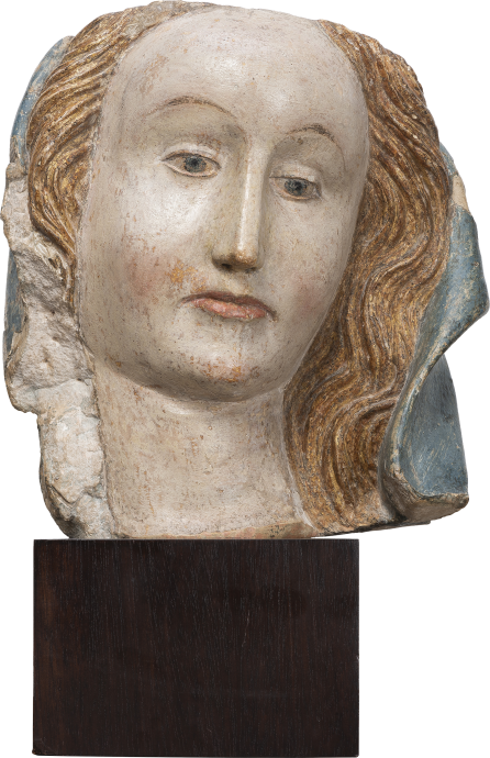 Head of the Virgin Mary