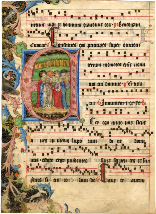 Circle of the Master of the Hasenburg Missal and Follower