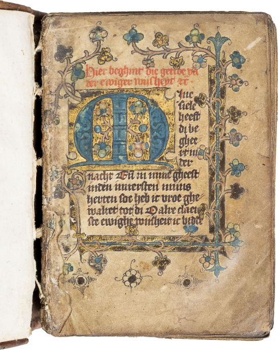 Book of Hours (Geert Grote translation, use of Utrecht)