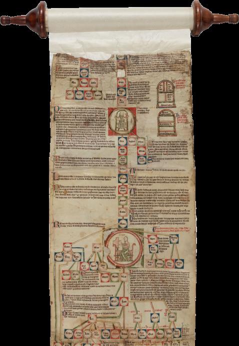 Petrus Pictaviensis [Peter of Poitiers], Compendium historiae in genealogia Christi