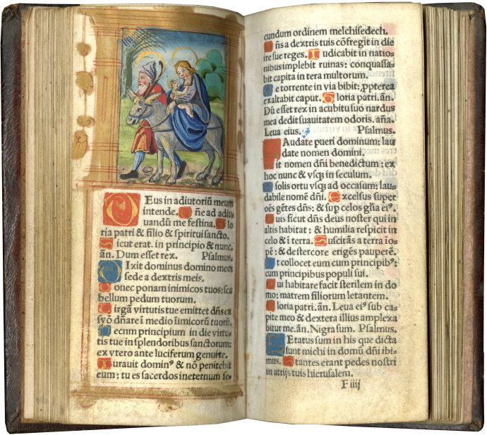 Printed Book of Hours (Use of Rome)