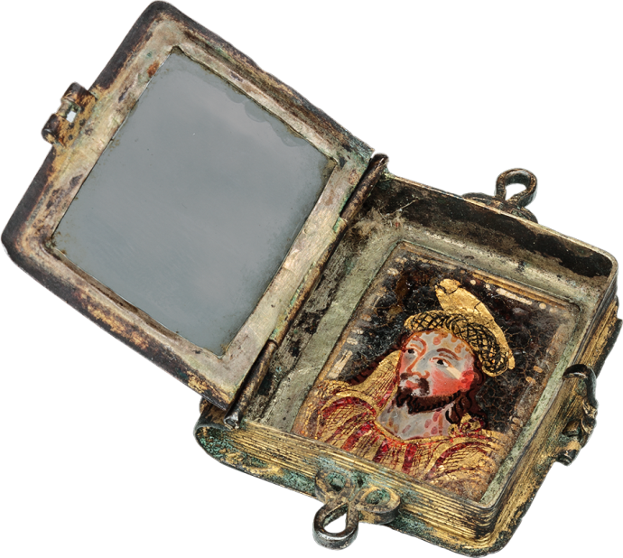 Reliquary Pendant in form of a Book