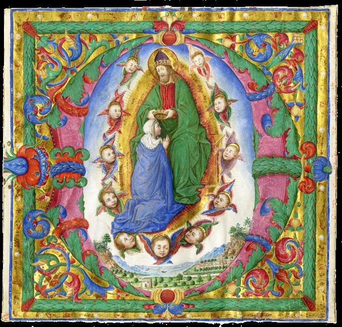 Bartolomeo Caporali (?), attributed to (Perugia, documented 1442-1503)