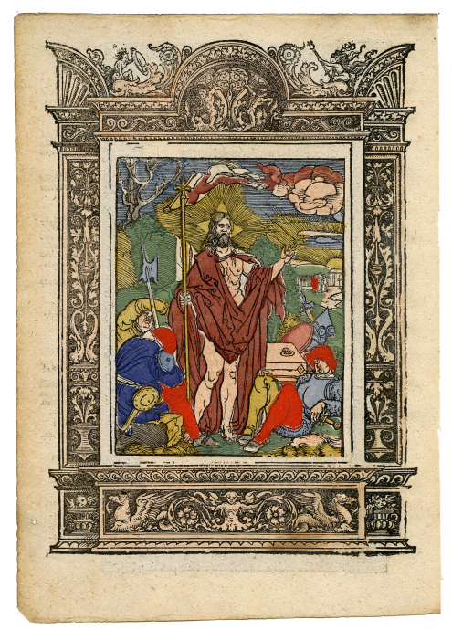 Life and Passion of Christ, series of 30 woodcuts from a Passional [incomplete]