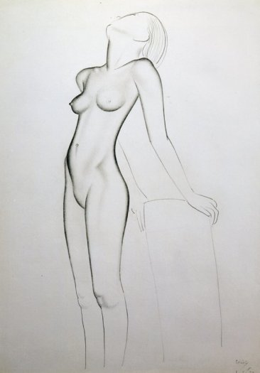Eric Gill, Nude, 1927