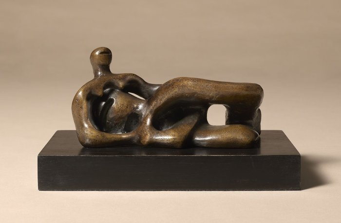 Reclining Figure (Maquette for Elmwood Figure)