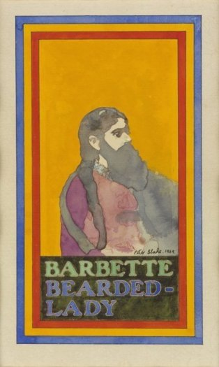 Barbette, A Bearded Lady
