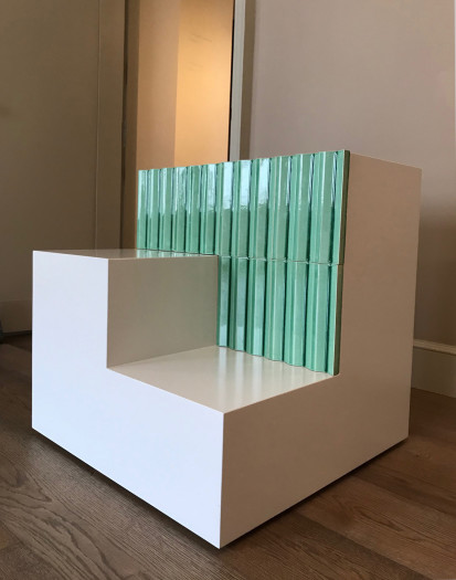 San Pedro Table (with green ceramic tiles)