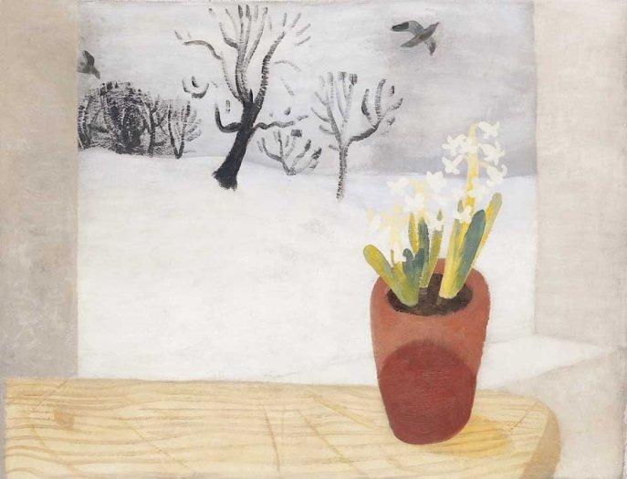 Rooks, Hyacinths and Snow