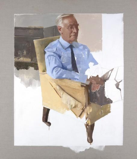 Diarmuid Kelley, Portrait of Sir Richard Thompson, 2015