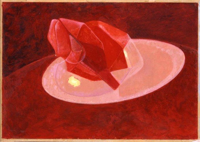 Imaginary Still Life (Rose Painting)