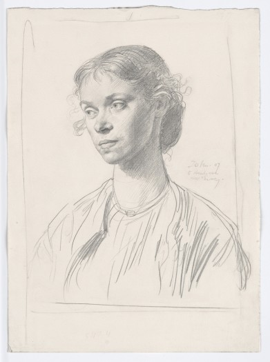 Augustus John, Mrs Ambrose McEvoy, 1907
