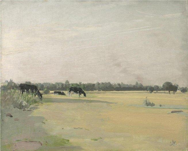 William Nicholson, Meadows, c1933-5