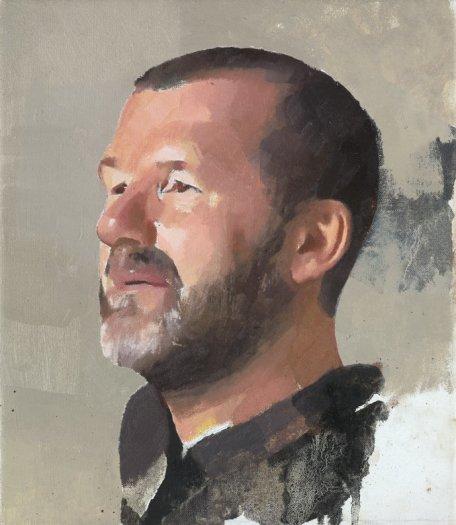 Diarmuid Kelley, Study for a Portrait, 2012