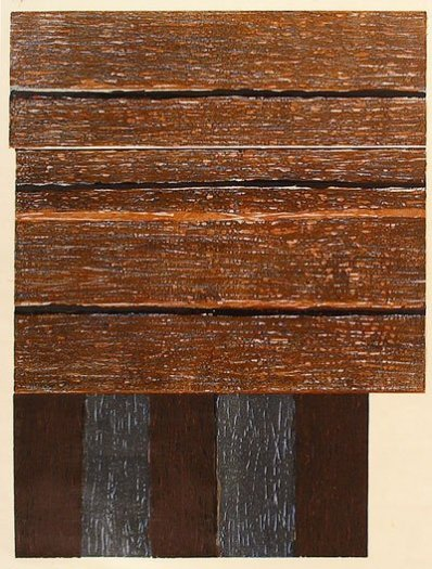 Sean Scully, Standing II, 1986