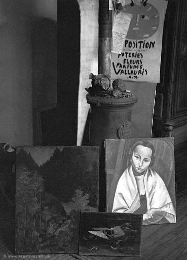 Lee Miller, Interior of Picasso's Studio, Rue des Grands Augustins, France, 1956