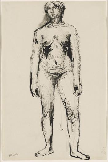 Henry Moore, Standing Figure, 1924