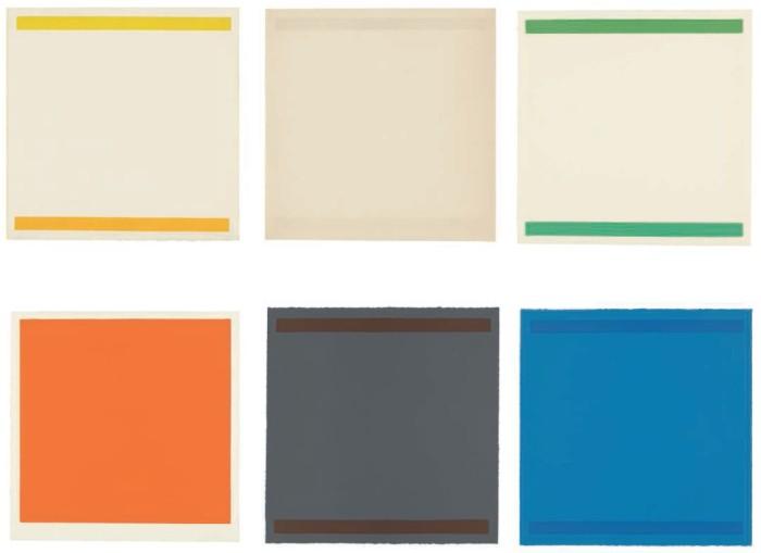 "<span class=""artist""><strong>William Turnbull</strong></span>, <span class=""title""><em>Sextet</em>, 1966</span>"
