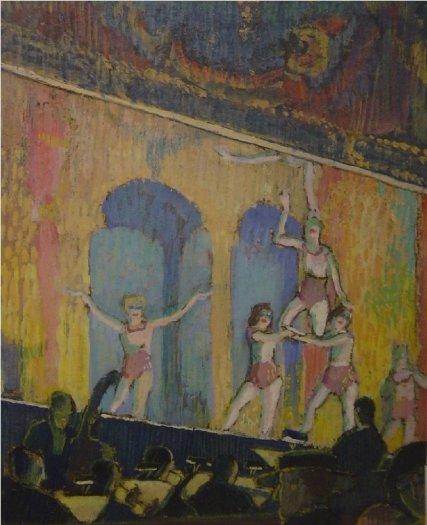 Girl Acrobats, The Alhambra