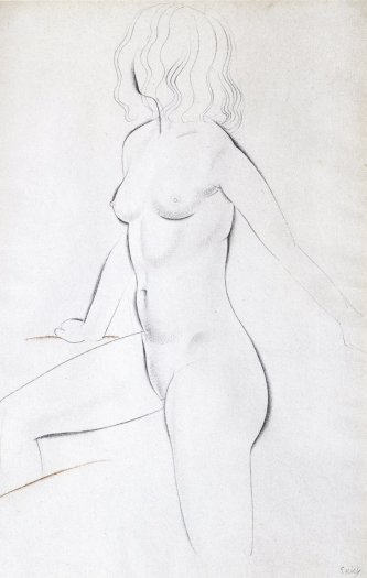 Eric Gill, Standing Nude, 1927