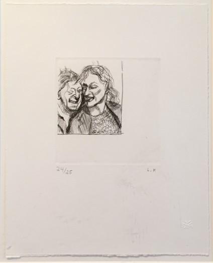 Lucian Freud, A Couple, 1982