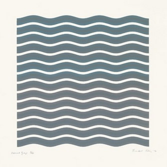 Bridget Riley, Coloured Greys (2), 1972