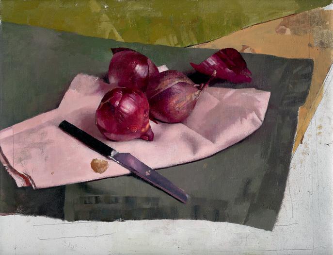 Diarmuid Kelley, Red Onions, 2019