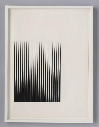 Bridget Riley, Study for Breathe, 1966