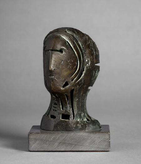 Henry Moore, Maquette for Openwork Head no.2, 1950
