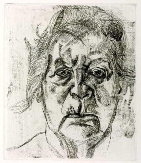 Lucian Freud, The Painter's Mother, 1982