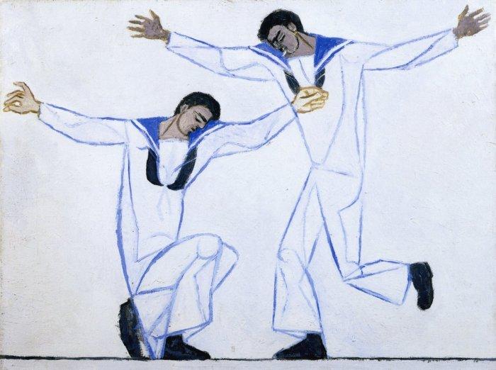 Two Greek Sailors Dancing