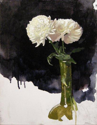 Diarmuid Kelley, Chrysanthemums, 2013