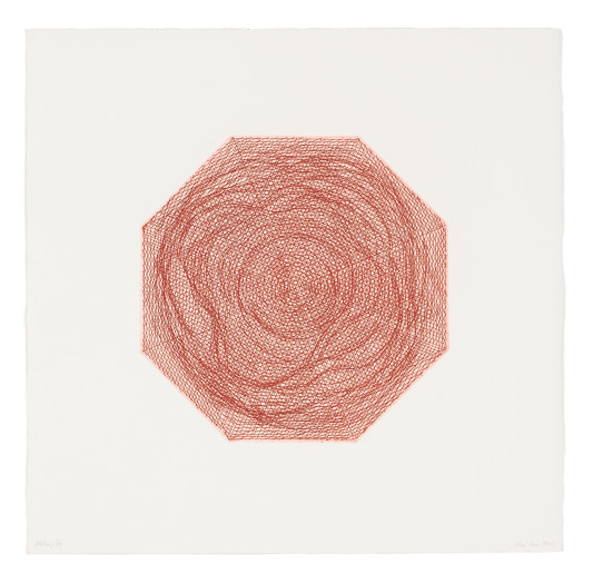 "<span class=""artist""><strong>Kim Lim</strong></span>, <span class=""title""><em>Red Octagon</em>, 1969</span>"