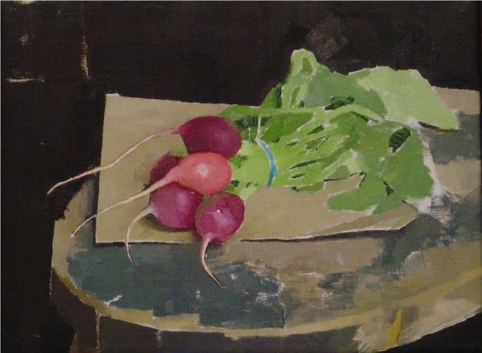 Diarmuid Kelley, Untitled (Radishes), 2004