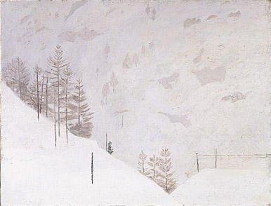 Snow at Zermatt