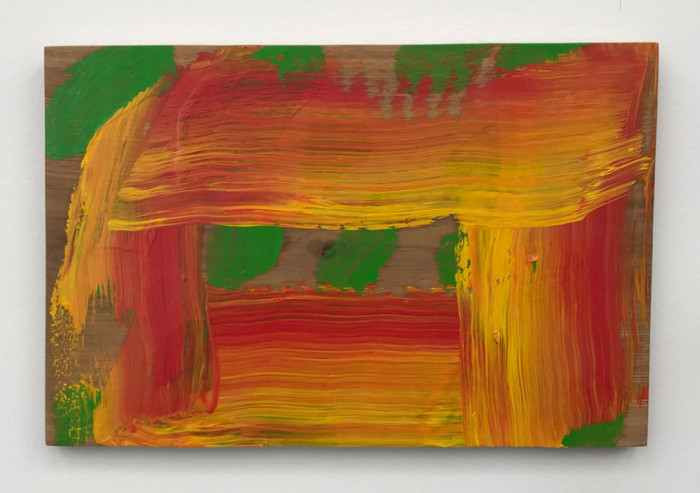 Howard Hodgkin, Through a Glass Darkly, 2015-16