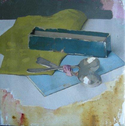 Diarmuid Kelley, Untitled (Teaspoons), 2011