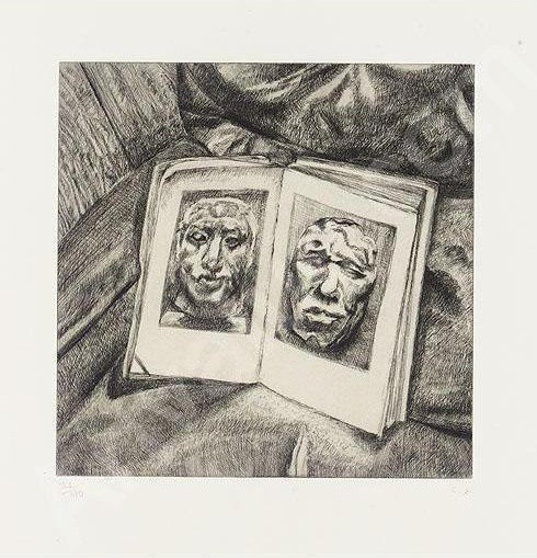 Lucian Freud, The Egyptian Book, 1994