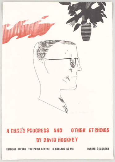 A Rake's Progress and other Etchings by David Hockney